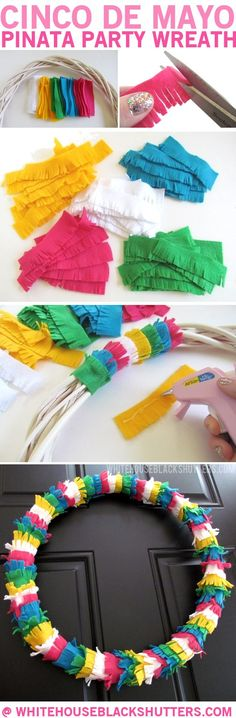 Over 20 Fun Cinco De Mayo crafts, fun food treats for kids and recipes - www.kidfriendlythingstodo.com