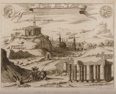 View of Athens, While Parthenon Was Still Used As a Masjid H Artwork; Ottoman Caliphate, Eyalet of Ceyaazir, Athens) Versailles, Caricature, Louis Xvi, Paros Island, Octopus Art, Greek History, Parthenon, Southern Italy, Thessaloniki