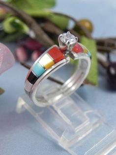 native american wedding band - Navajo Wedding Rings