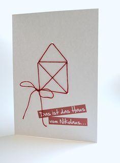 """Hallo Ihr Lieben, heute gibt es nun die Anleitung für """"Das Haus vom Nikolaus"""". Wie Ihr Euch sicherlich denken könnt, habe ich diese und die """"Fadenspiel-Karten"""" mit dem Stanz-Tool von BERNINA CrystalWork erstellt. Ein klein wenig """"zweckentfremdet"""", aber der Effekt ist nicht schlecht. Die Stanzen gibt es ja in vier verschiedenen Größen und ich habe für meine Karten die kleinste Größe gewählt. ..."""