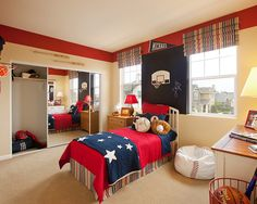 Kids' Sports Themed Bedrooms Design, Pictures, Remodel, Decor and Ideas - page 3