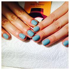 #gelmanicure #chinaglaze gelaze #for audrey !! #natural nail