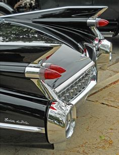 1959 Cadillac fins and taillights.  American design at its best.