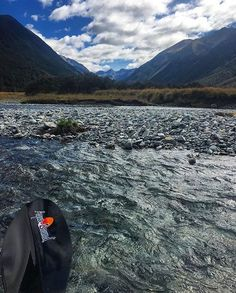 Beautiful shot on the Waiau River in the St James Conservation Area in New Zealand. Thanks @hankle for sharing with us! #aquabound