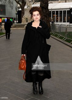 Helena Bonham Carter sighting in Leicester Square on March 20, 2015 in London, England.