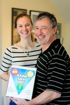 A wonderful read! Richard Gill, of Trivial Pursuit and  Pictionary Fame as well as an Executive and Advisory Board Member to our Chicago Toy and Game Group, and Catherine McMillen-Gill, of Top Trumps, one of our favorite exhibitors and sponsors, created a game together - Name, Say, Do!  They are lovely people and dear friends.