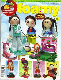 Mis revistas en goma eva.: Eva especial