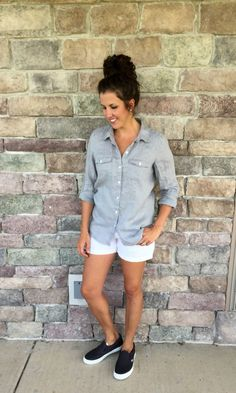 What I Wore Real Mom Style: End of Summer #RealMomStyle - momma in flip flops