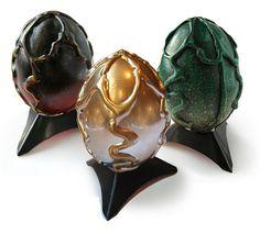 Three dragons Eggs...DIY on how to make them