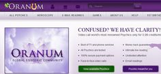Oranum.com Psychics Review Get free psychic reading in totally free psychic chat