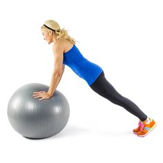 Who knew one simple piece of equipment like a stability ball could target your whole body? Your entire body--from head to toe--will benefit from using a stability ball. Still not convinced? Try these fifteen exercises and see for yourself.