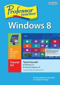 Professor Teaches, the leading brand of training, provides realistic and interactive training for Microsoft Windows 8 and Internet Explorer 10. Learn the features of this hard to understand operating system. Build your skills quickly with interactive tutorials and practical exercises.  Price: $14.24
