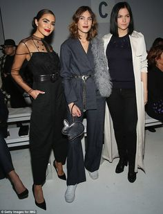 On Thursday, Olivia Culpo, Alexa Chung and Leigh Lezark put their best fashion foot forward for the Noon By Noor show for New York Fashion Week
