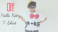 DIY Fashion: Sharpie Hello Kitty T-shirt Tutorial