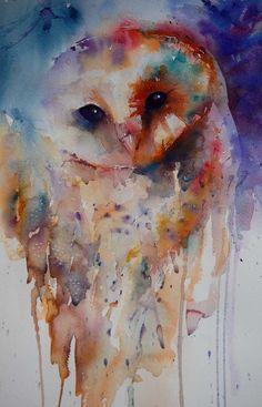 Amazing watercolor painting @Rose Davis