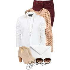 """Alaa."" by stylisheve on Polyvore  How to wear boots  #polyvore #stylisheve #fashion #inspiration #amazing #look #beautiful #stylish #cloth #clothing #trend #style #streetstyle #streetfashion #outfit #outfits #sets #lovely #set #denim #jeans #bras #outwear #clothing #cloth #clutches #darkred #boots. #sunglasses."