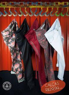 Calças jeans à 29,99!! Corram meninas, peças limitadas!  Container Outlet Teó! #vemprocontainer #containeroutlet