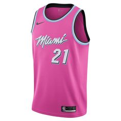 Hassan Whiteside Earned City Edition Swingman (Miami Heat) Men s Nike NBA  Connected Jersey Size 6605d1e5f