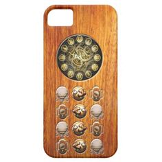 Steampunk wood iphone 5 covers by #in_case