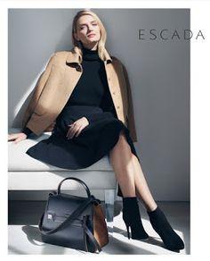 God Save the Queen and all: Lily Donaldson protagoniza la campaña de Escada pa... #escada #lilydonaldson #campaign #aw15