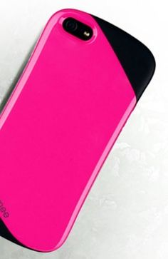 STRIPE HARD cases - HOTPINK -for APPLE IPHONE 5 by imonstore