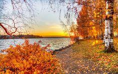 Осень в России.......