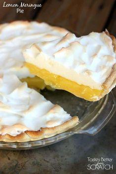 Lemon Meringue Pie via @betrfromscratch