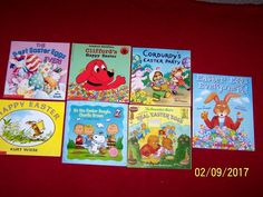 7 Easter Picture Books Berenstain Bears Corduroy Charlie Brown Non-religious