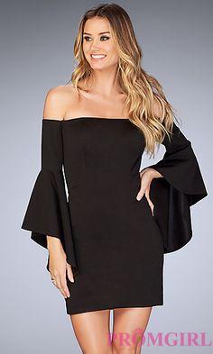 Steady Black 2017 Elegant Cocktail Dresses Sheath Cap Sleeves Short Mini Crystals Open Back Homecoming Dresses Cocktail Dresses