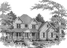 Farmhouse House Plan with 2105 Square Feet and 3 Bedrooms(s) from Dream Home Source | House Plan Code DHSW63264