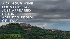 A free 24-hour wine foundation now exists because dreams do come true.