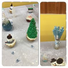 Winter themed treats (it's a boy)