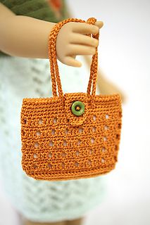 Ravelry: cataddict's Autumn colors all around bag and sandals FREE PATTERNS