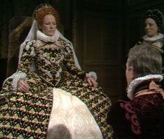Glenda Jackson in Elizabeth R bbc