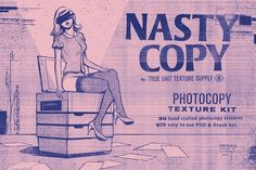 Graphic Design - Graphic Design Ideas  - NASTY COPY Photocopy Texture Kit by True Grit Texture Supply on Creative Market   Graphic Design Ideas :     – Picture :     – Description  NASTY COPY Photocopy Texture Kit by True Grit Texture Supply on Creative Market  -Read More –
