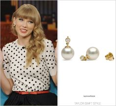 The View | October 24, 2012 Pearl Paradise 'Freshadama Pearl Diamond Earrings' - $272.00 Worn with: Oscar de la Renta sweater and Pearl Collective bracelet Also worn: Outside her hotel in Rio