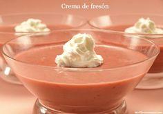 Crema de fresón - MisThermorecetas.com
