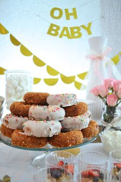 My Best Friend's Blog: All That Glitters is Gold Baby Shower Breakfast
