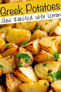 Potato Sides, Potato Side Dishes, Side Dishes Easy, Vegetable Dishes, Vegetable Salad, Fish Side Dishes, Shrimp Side Dish, Sprouts Vegetable, Fish Sides