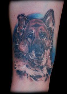 368e358c1b1e6 Best dog tattoo image - Tattoos Book - 65.000 Tattoos Designs Types Of  German Shepherd,