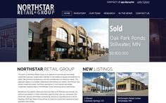 Northstar Retail Group – Easy to update and smoothly directs visitors where they need to go.