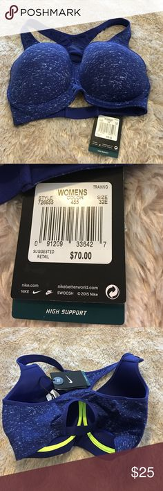 Nike Pro Rival Heather Bra Nike Pro Rival Heather Bra Size 32E. Price Firm.  All prices have been lowered to the lowest price possible. Nike Intimates & Sleepwear Bras