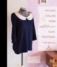 Top sites de moldes de roupas