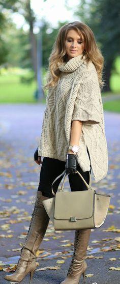 Daily New Fashion : Fall / Winter - Street Style Inspiration