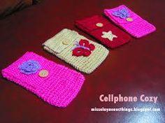 Resultado de imagem para crochet cell phone case