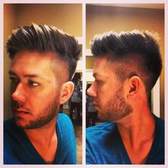 Men's haircut trends by Steve Haynes of What's New The Salon #men #haircut