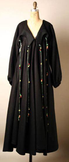 Zandra Rhodes dress ca. 1968 via The Costume Institute of the Metropolitan Museum of Art