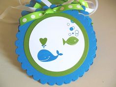 Whale Banner Octopus Banner Fish Banner Crab by sillylittlegoose, $28.00
