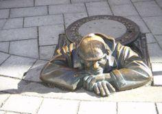 Bratislava, Lion Sculpture, Statue, Art, Art Background, Kunst, Performing Arts, Sculptures, Sculpture