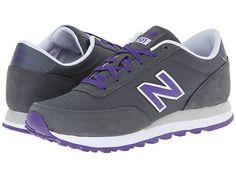 New Balance Classics WL501 Grey/Purple 1 - Zappos.com Free Shipping BOTH Ways
